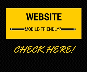 Website mobile-friendly?