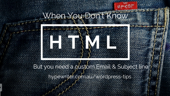 Create an HTML email link with Subject & Body (Tip)